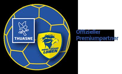 THUASNE offizieller Premiumpartner der Rhein Neckar Löwen