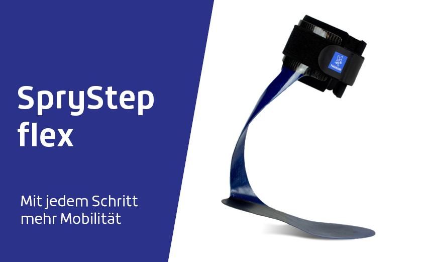 Sprystep flex – die Fußheberorthese für aktive Patienten