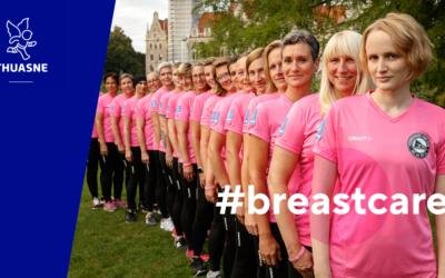 Jetzt ist es offiziell: Thuasne und die PINK DRAGONISTAS werden gemeinsam für Frauen bei und nach Brustkrebs aktiv.